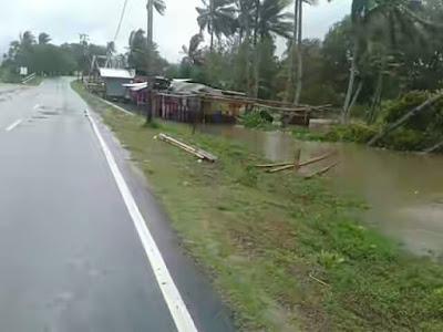 Banjir di Kelurahan Beo, Kabupaten Kepulauan Talaud