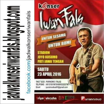 Konser Iwan Fals di Pati Jawa Tengah