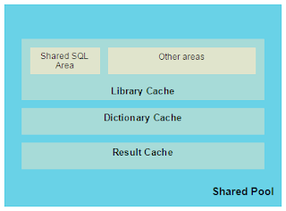 Shared Pool - Parsed SQL and Data Dictionary