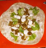Recette mamangue Kebab agneau chapati express