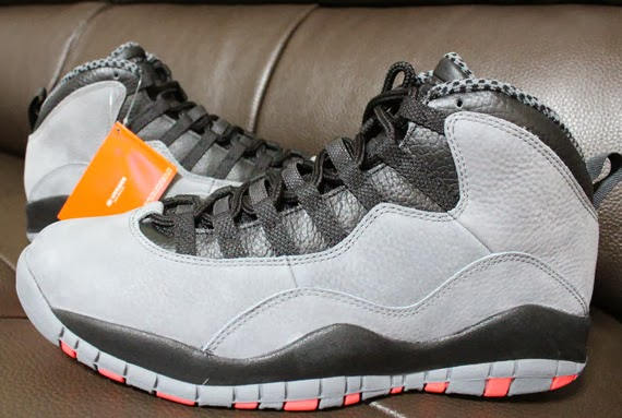 best sneakers 373a4 063ec ... sale most impressive new looks for the air jordan 10 retro we see  premium leather covered
