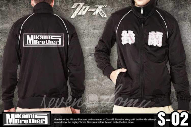 seven domu s02 jaket crows zero mikami brothers double