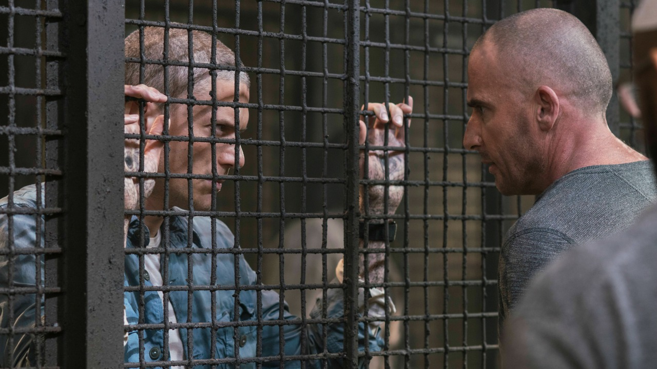 Michael Scofield y Lincoln Burrows en 'Prison Break'