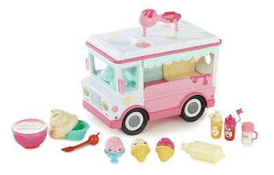 NUM NOMS - Camión Fábrica Brillo de Labios | Bandai contenido juguete
