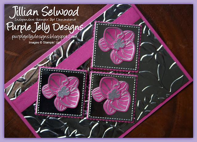 Climbing Orchids, Layered Leaves Dynamic Textures Impressions Embossing Folder
