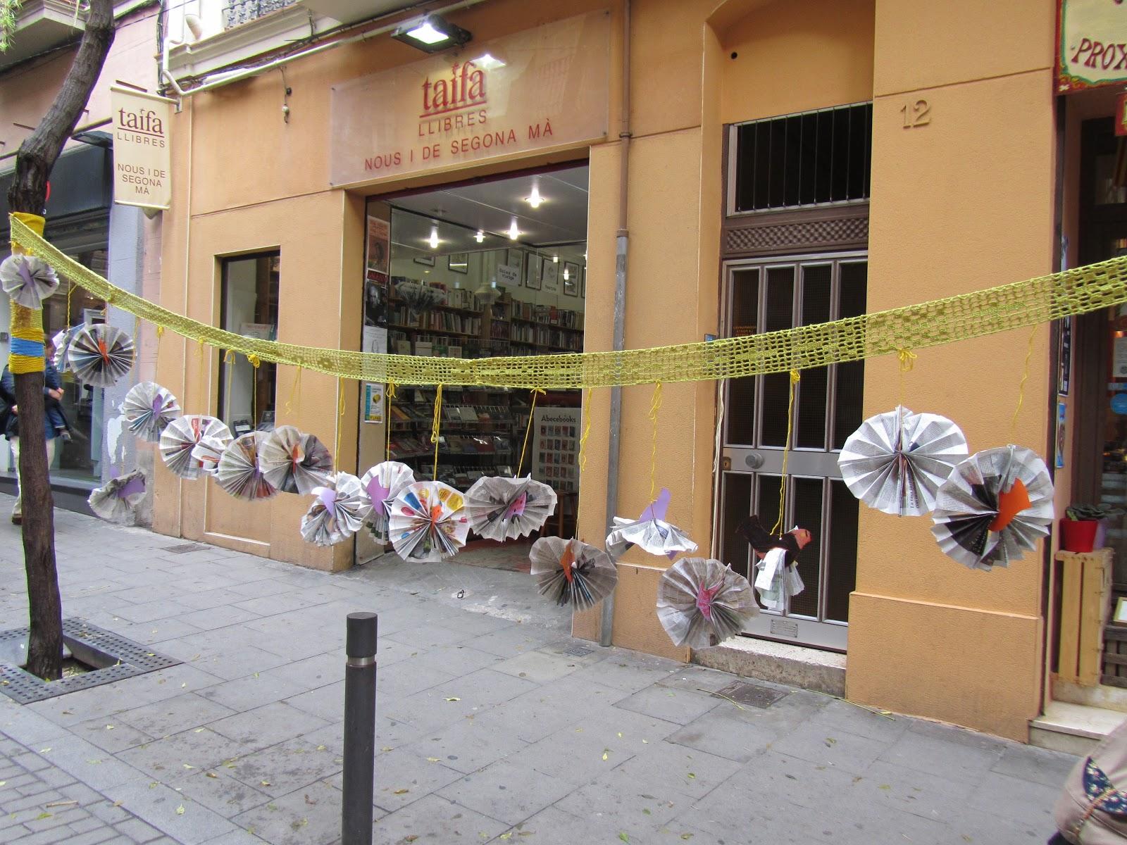 yarnbombing en Gracia