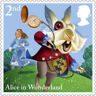 Reino Unido - Filatelia - 2015 - Alice in Wonderland 01