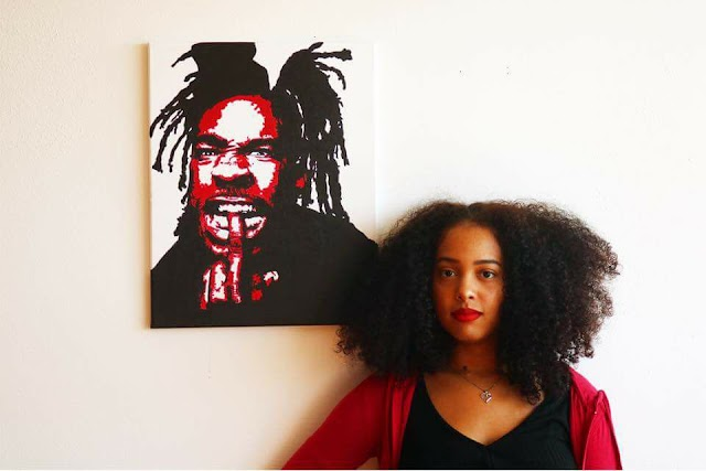 Pop Art Painter Ieesha Naeema talks Musical Influences, Entrepreneurship, and Her Creative Process