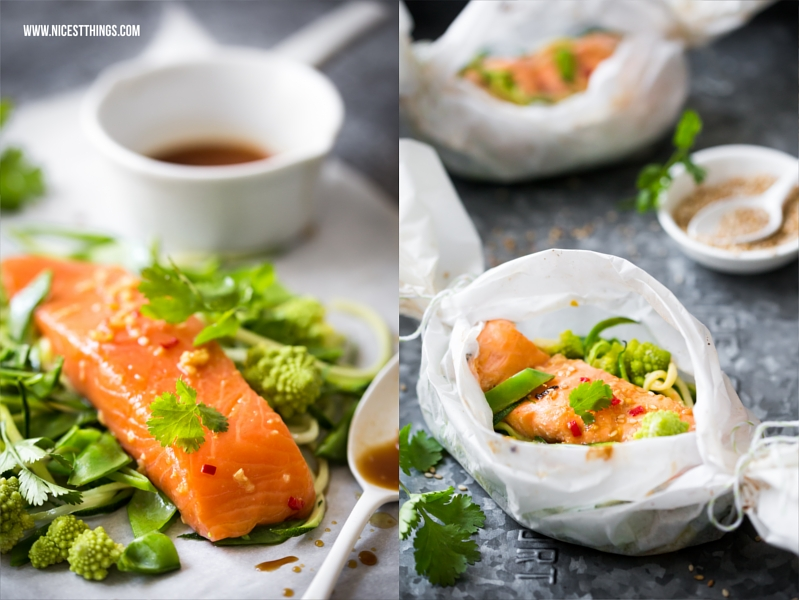 lachs p ckchen aus dem backofen asiatischer teriyaki ofenlachs nicest things. Black Bedroom Furniture Sets. Home Design Ideas