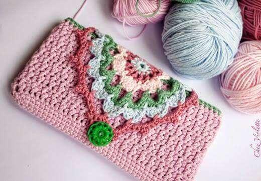 Cartucheras a Crochet kangutingo