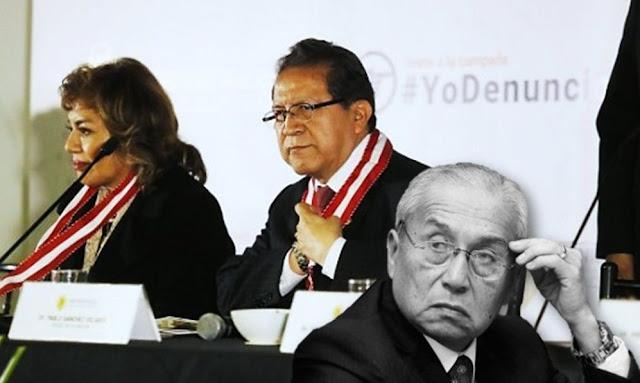 Los fiscales supremos Pablo Sánchez Velarde y Zoraida Avalos Rivera solicitaron la inmediata renuncia del fiscal de la Nación, Pedro Gonzalo Chávarry