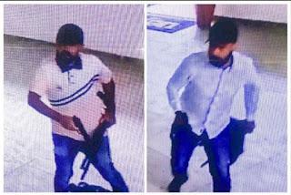 Polícia divulga imagens de suspeitos de assalto a agência bancária na UEPB