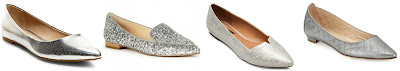 Plume by Faryl Robin Women's Pointed Ballet Flats • $18.98–37.99 Cammila pointed toe smoking slipper • Sole Society • $64.95–69.95 Klaraa • Steve Madden • $59.95 Manolo Blahnik Abat Quilted Pointed-Toe Flat, Pewter • Manolo Blahnik • $735