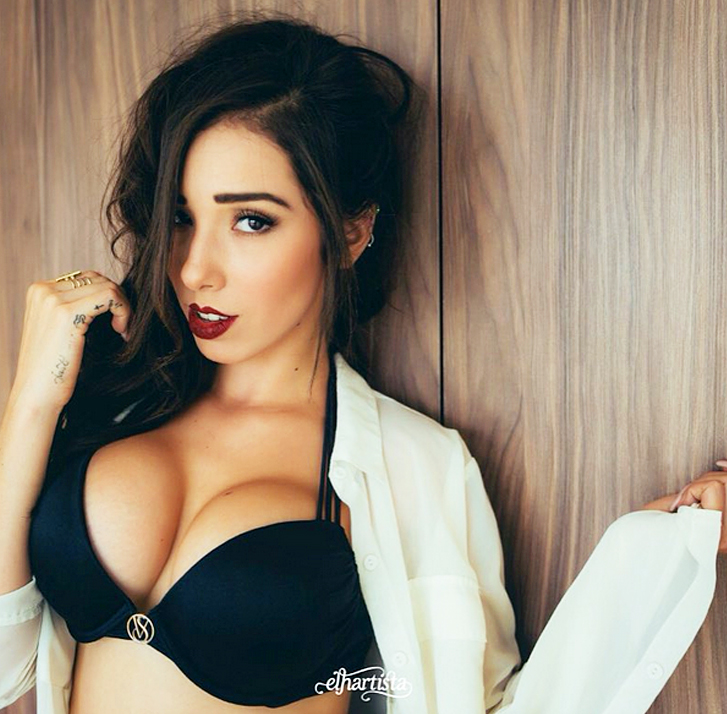 Lachica90total Danik Michell La Mujer Que Reúne La Sensualidad