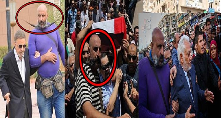 سبب غريب جدا وراء ظهور ابو شنب فى كافة جنازات مشاهير الفنانين