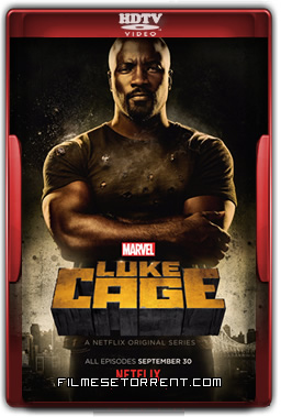 Luke Cage 1ª Temporada Legendado Torrent 2016 HDTV 720p 1080p Download