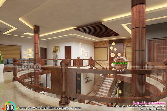 Upper floor interior designs