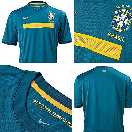 camiseta de brasil verde