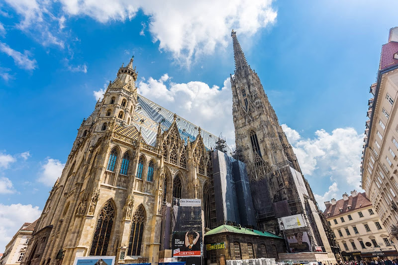 St. Stephens Cathedral Vienna by Laurence Norah