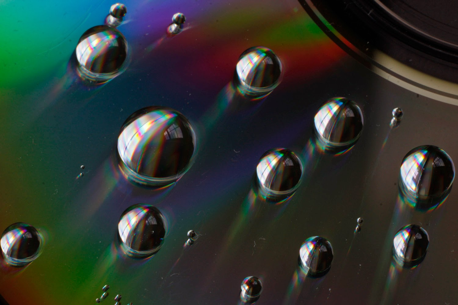 Water on CD Refraction | Boost Your Photography