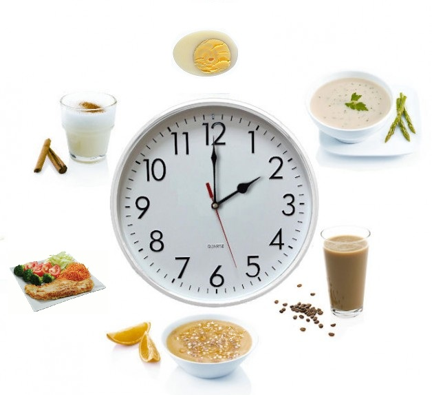 6 comidas al dia