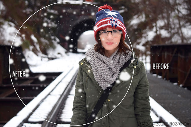 10 Free Snow Overlays_PREVIEW