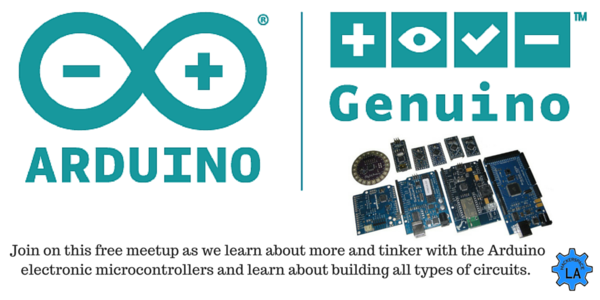 Join us for Arduino NIght at Hackerspace LA! - Wed, June 8
