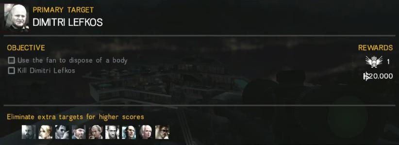 のいたんのHitman:Sniper攻略: CHAPTER 2 MISSION 14