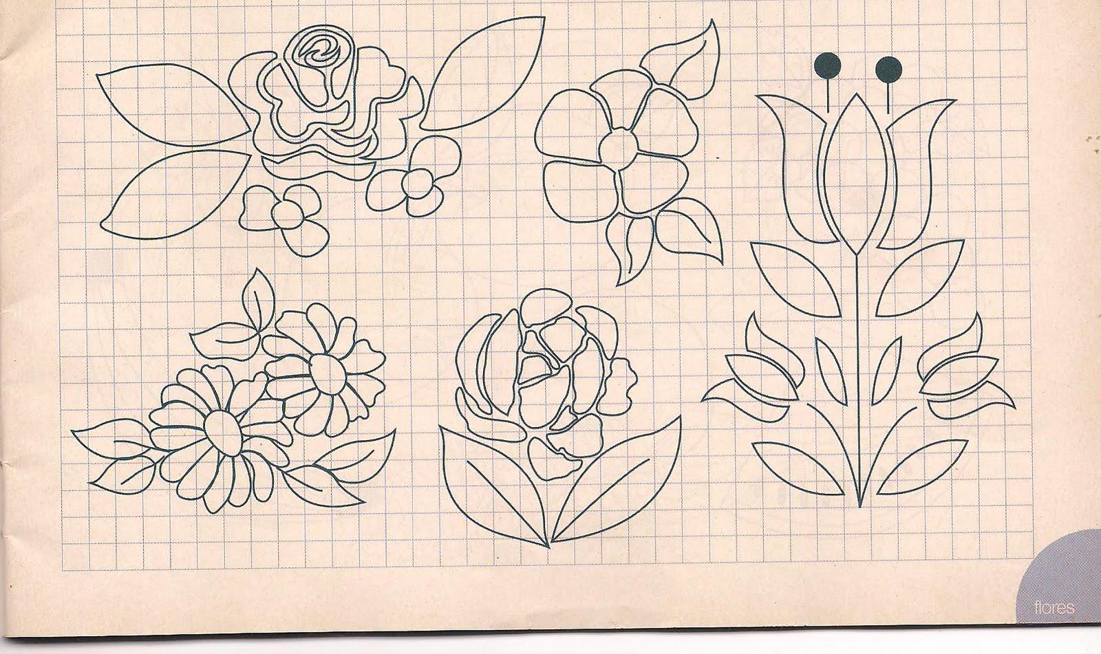 El blog de flor mar y ojito figuras y letras moldes - Cenefas de papel infantiles ...