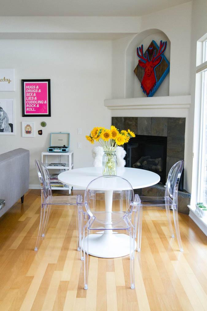Milowcostblog necesitas sillas bonitas - Sillas transparentes comedor ...