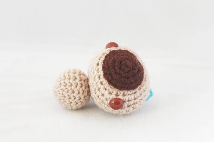 Amigurumi baby sloth crochet pattern tutorial how to make the head