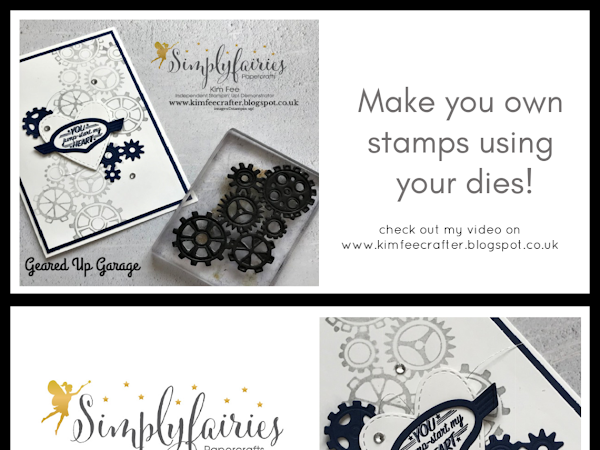 Make Your Own Stamps Using Dies! with video...