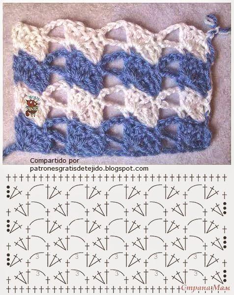 Punto nuevo al crochet