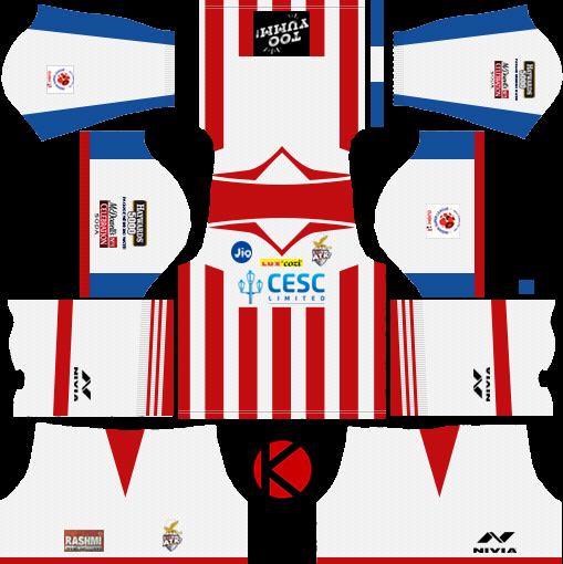 ATK Kolkata 2018 Kit - Dream League Soccer Kits