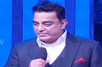 Kamal speaks about Maruthanayagam!