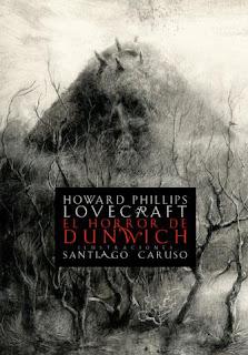 Portada del libro el horror de dunwich para descargar en pdf gratis