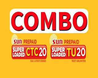 Sun COMBO 20 – 3 days unlimited texts + Calls and All Net for 20 Pesos