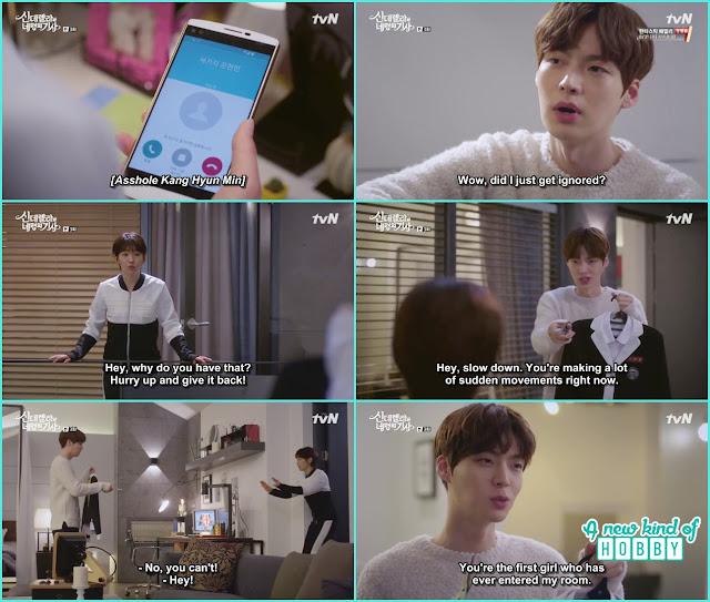 hyun min hostage ha won school uniform  - Cinderella and 4 Knights - Episode 3 Review