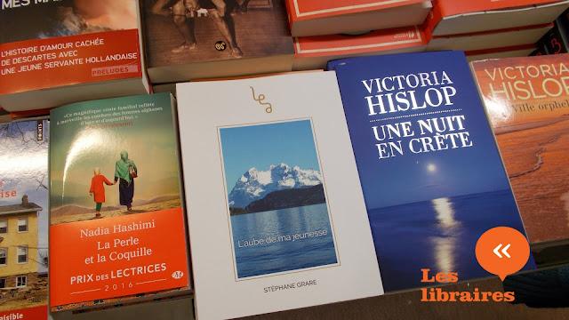 Stéphane Grare et L'Aube De Ma Jeunesse en librairie