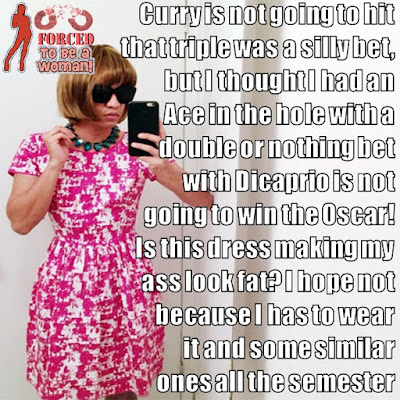 Double or nothing - TG Captions and more - Crossdressing and Sissy Tales and Captioned images