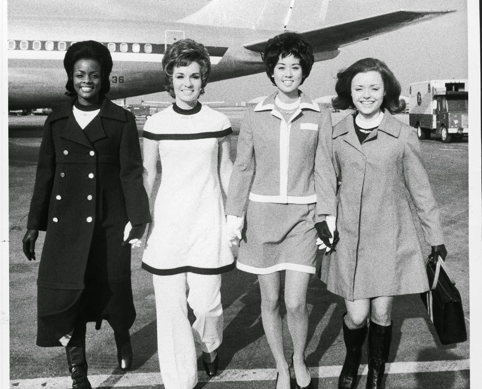 Vintage Flight Attendant Uniform 113