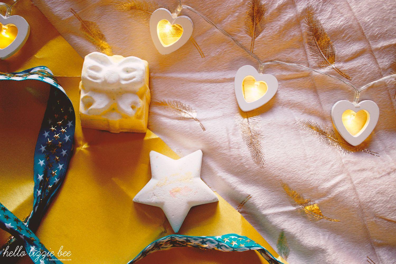 Lush Golden Wonder, Star Dust, vegan, bath bombs