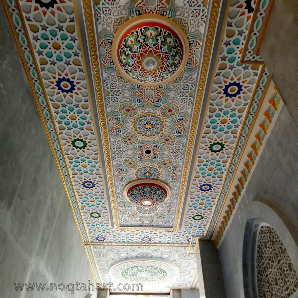 ornamen plaforn masjid grc