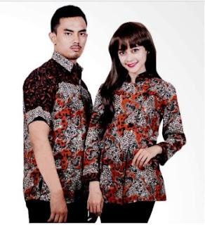 Contoh Batik Formal Wanita