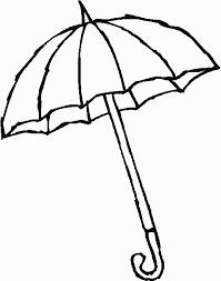 umbrella coloring page 2 - Umbrella Coloring Page 2