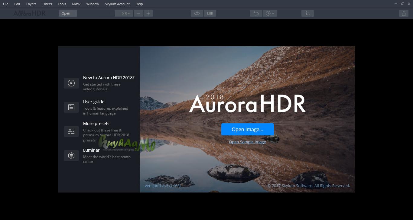 Aurora HDR terbaru