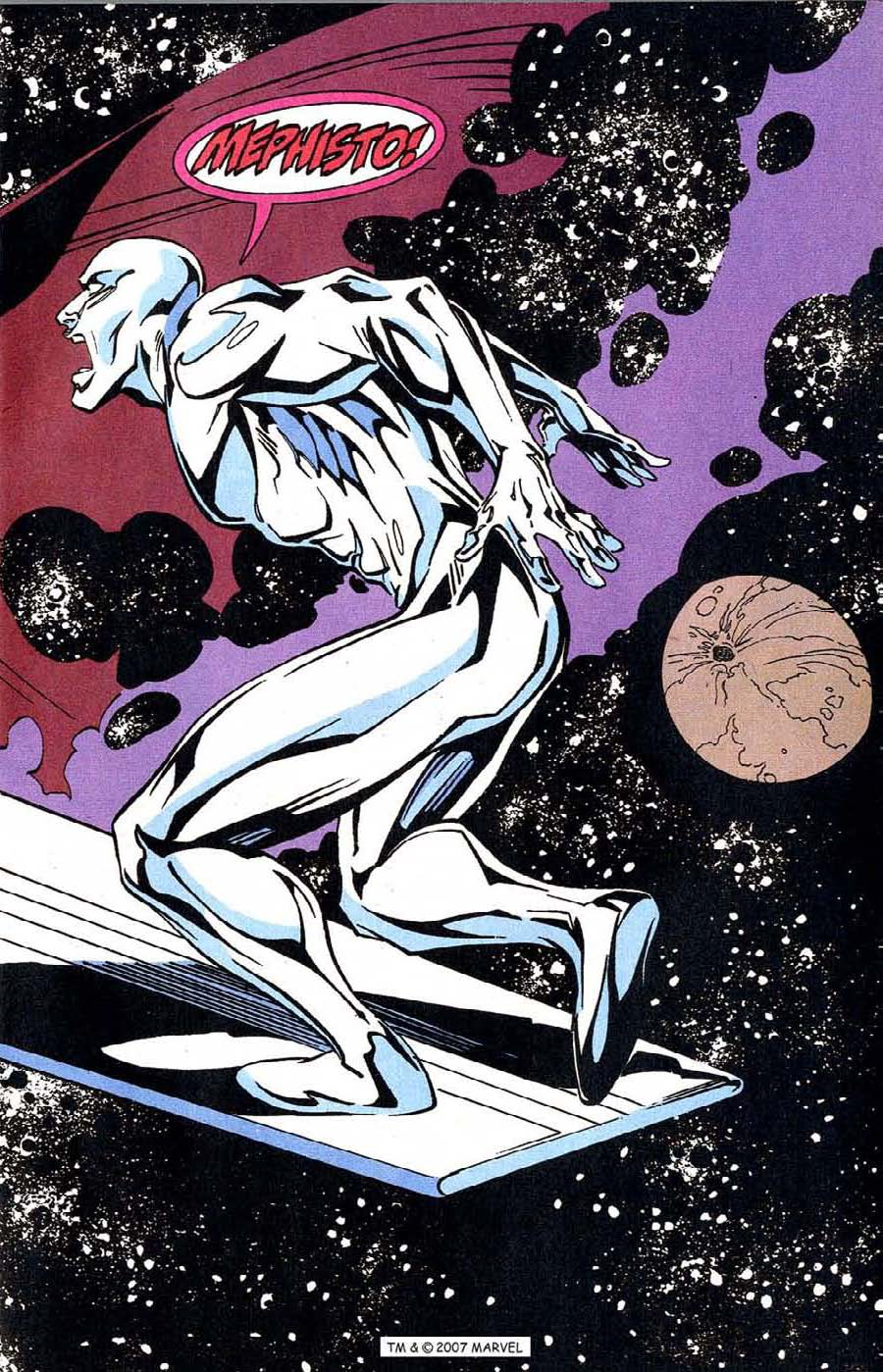 Read online Silver Surfer (1987) comic -  Issue #100 - 5