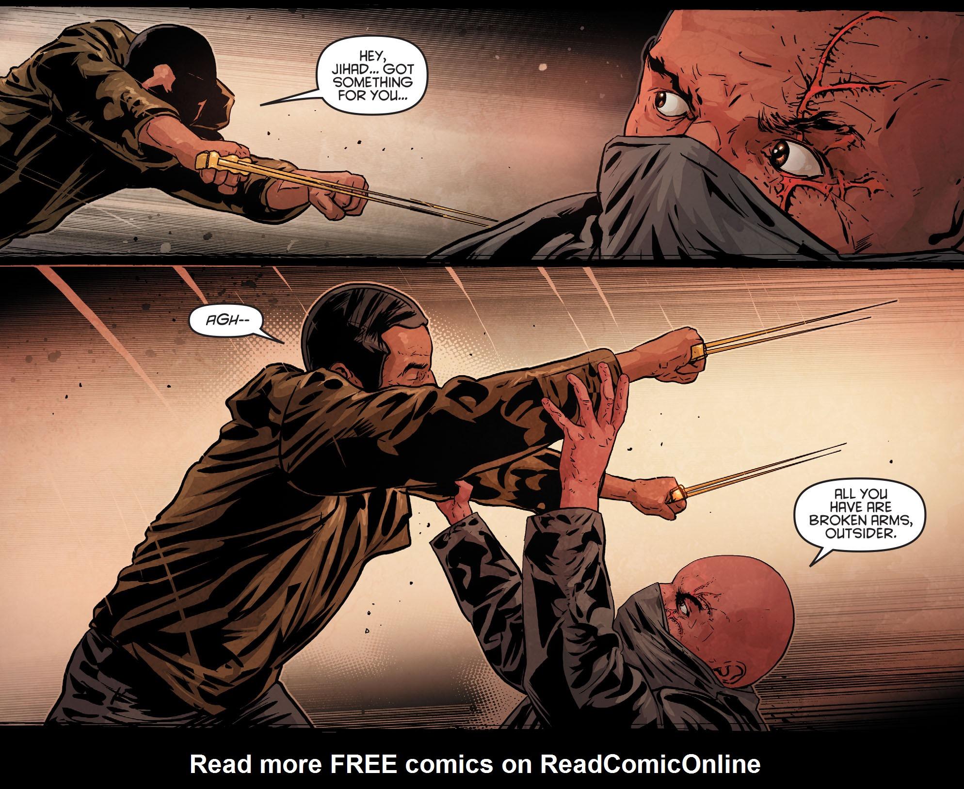 Read online Arrow: Season 2.5 [I] comic -  Issue #12 - 16