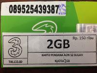 Perdana data tri quota 2GB ,data tri quota 2GB