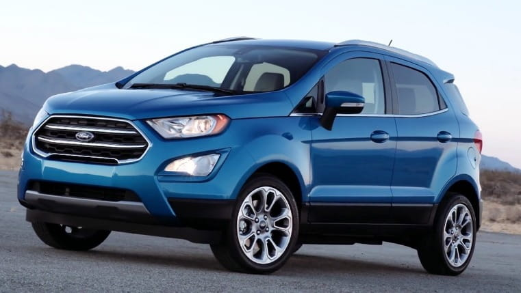 Ford Ecosport 2017 Price in India